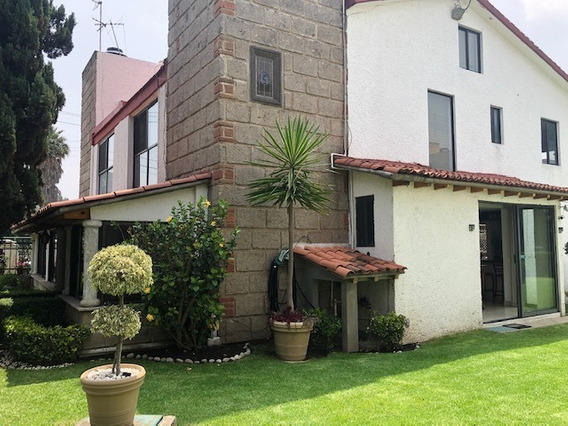 Casa En Condominio En Venta, Fuentes De Tepepan