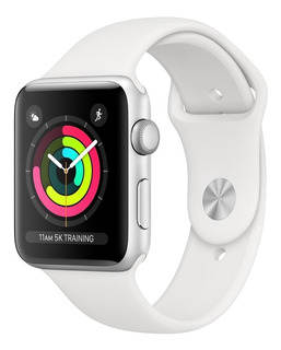 Apple Watch Series 3 38mm Gps Resiste Agua Aluminio/blanco !