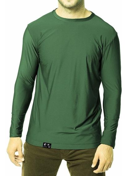 Camiseta Uv Raios Solares Fator 50 Praia Pesca Sol + Nf