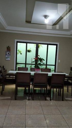 Casa Com 3 Dormitórios À Venda, 183 M² - Parque Residencial Califórnia - Campo Limpo Paulista/sp - Ca0987
