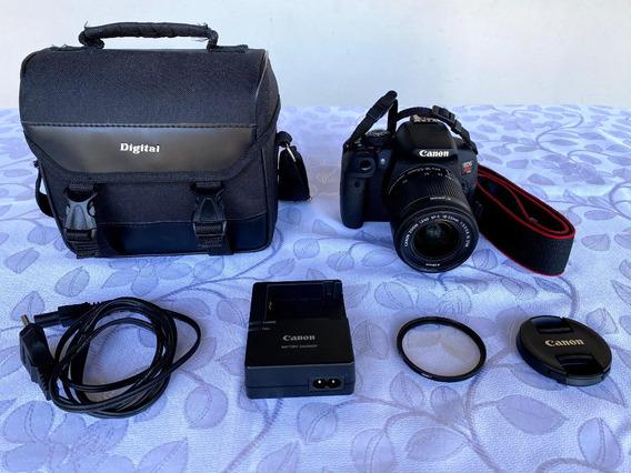 Canon Eos Rebel T5i + Lente 18-55mm. Em Perfeito Estado!