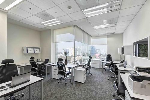 Imagen 1 de 8 de Oficina  Equipada En Torre Vistral,  10 A 15 Ejecutivos