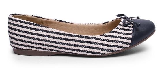 Zapato Tipo Flat Para Mujer Capa De Ozono Con Moño