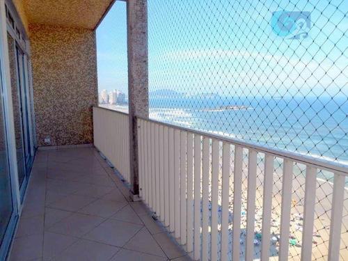 Imagem 1 de 20 de Apartamento  Na Praia Das Pitangueiras, Guarujá. - Ap3975