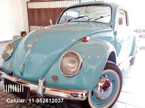 Volkswagen; Fusca 1960, Carro Antigo, Fusca Antigo