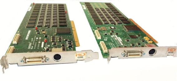 Pro Tools Hd-2 Pci-pci-x Card Com Flex Cable