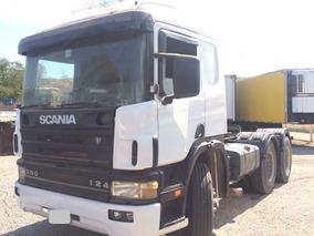 Scania P 124 6x4 360 - Ano 1998