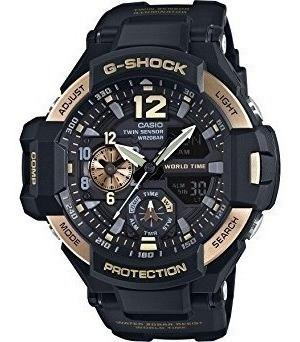 Reloj Casio G-shock Ga1100-9g Black Dial Resin Quartz Nuevo