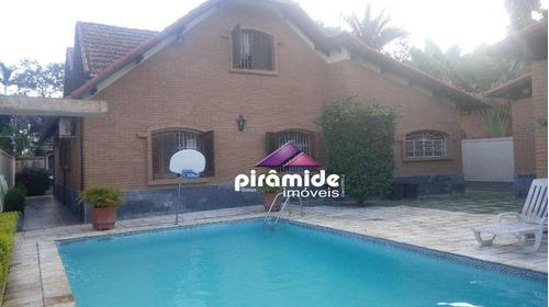 Casa Com 4 Dormitórios À Venda, 400 M² Por R$ 2.300.000,00 - Jardim Apolo - São José Dos Campos/sp - Ca5429