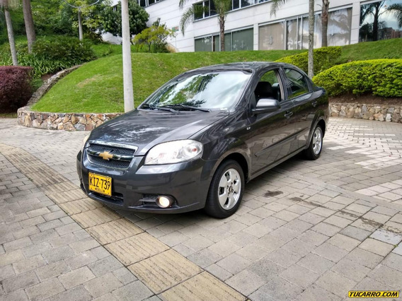 Chevrolet Aveo Emotion Mt 1600 Cc Sedan