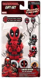 Solar-powered Deadpool Body Knocker Stands About 8 Inches Ta