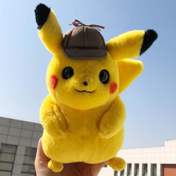 Pelúcia Pokemon Detetive Pikachu - Detective Pikachu 22cm