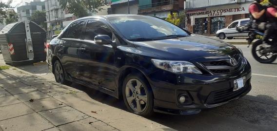 Toyota Corolla 1.8 Xrs (cv 132) 2013 Km 67mi Caja 6t Negro