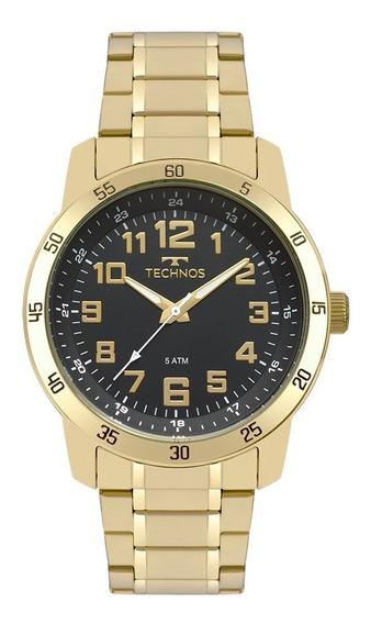 Relógio Technos Dourado 2035mnx/4p Original + Nota Barato
