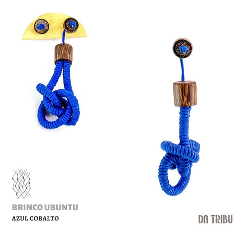Brinco Feminino Ubuntu - Da Tribu | Biojoia
