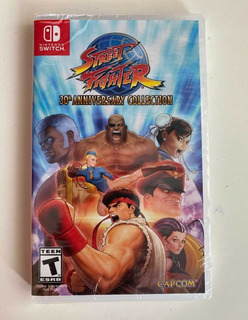 Street Fighter 30th Anniversary Collection Nsw Sellado