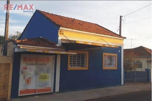 Casa Com 3 Dormitórios À Venda, 101 M² Por R$ 220.000,00 - Centro - São Manuel/sp - Ca0012