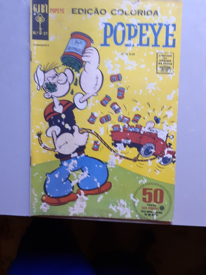 Popeye Nº 27 Outubro De 1967