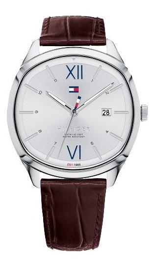 Relógio Tommy Hilfiger Couro Marrom Masculino - 1710364