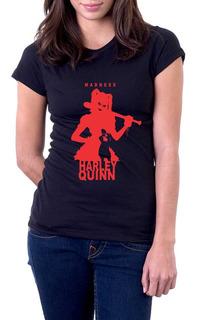 Camiseta Feminina Arlequina 100% Algodão