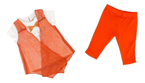 Conjunto Dos Piezas Para Niña Blusa Y Leggin 01643