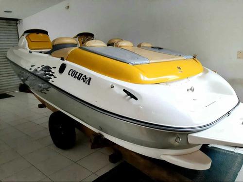 Jetboat Coluna Expert Mercury Optimax 200 Hp 2007. Caiera
