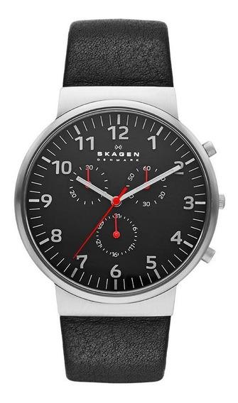 Relógio Skagen Masculino Ref: Skw6100/z Slim Prateado