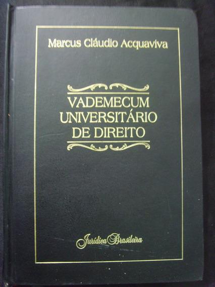 Vademecum Universitario De Direito - Marcus Claudio Acquaviv