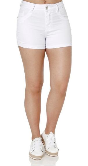 Short Sarja Feminino Bivik Branco 40