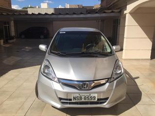 Honda Fit 2014 Lx 1.4 Automático 19.700 Km Cor Prata Placa 9