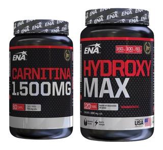 Rapido Quemador Grasa Abdominal Hydroxy Max Y Carnitina Ena Plan Para 2 Meses O Potenciar Resultados En 1 Mes