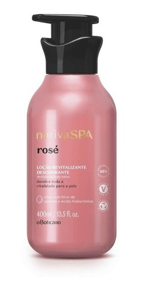 Hidratante Nativa Spa Rosé
