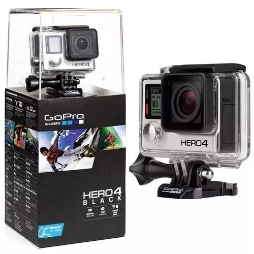 Câmera Filmadora Gopro Hero 4 Black + Sd Extreme Plus 32gb