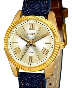 Relógio Lince Feminino Pulseira Jeans Lrc4509l C3dx
