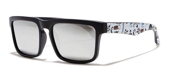 Oculos De Sol Masculino Com Proteção Uv Polarizado