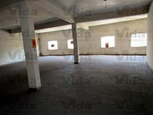 Imagem 1 de 6 de Salão Comercial Para Locação Em Vila Osasco  -  Osasco - 35837