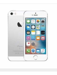 iPhone Se 16 Gb Prata Tela 4 Com Capa E Película De Brinde !