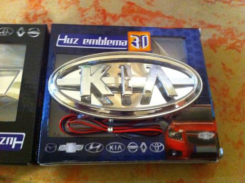 Imagen 1 de 1 de Luz Led Emblema Kia Entrega Inmediata Universal Oferta