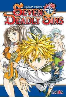 Manga The Seven Deadly Sins # 02 - Nakaba Suzuki