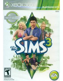 The Sims 3 - Xbox 360 Mídia Física Lacrada Original