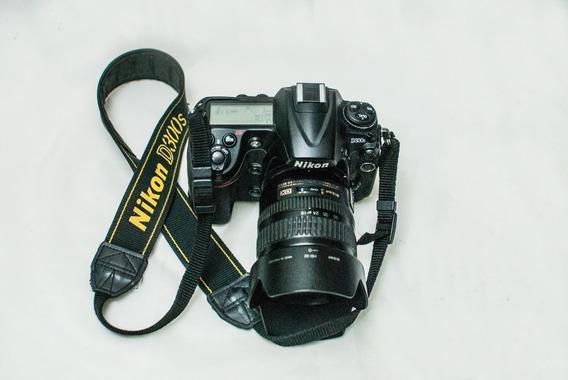 Câmera Fotog Nikon D300s C/ Lente 18-70 F3,5/4.5 102mil Clik