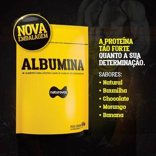 Combo 4 Albuminas Naturovos - Somente Chocolate - V. 11/2019