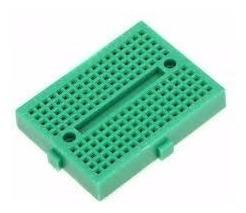 Mini Protoboard 170 Pontos Arduino Pic Raspberry Pi Esp8266