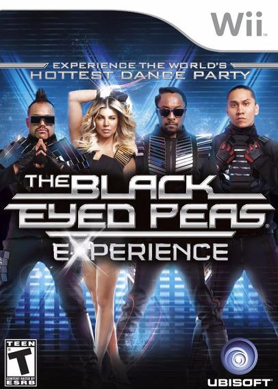 Jogo The Black Eyed Peas Experience Lacrado Pra Nintendo Wii