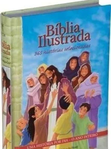 Bíblia Ilustrada 365 Histórias P Príncipe E Princesa