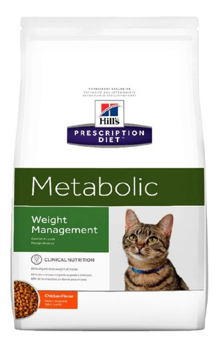 Alimento Hills Metabolic Control De Peso Gato 4kg
