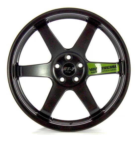 Roda Gt7 Te37 Aro 18x8 5x112 5x114 Concava Racing Civic