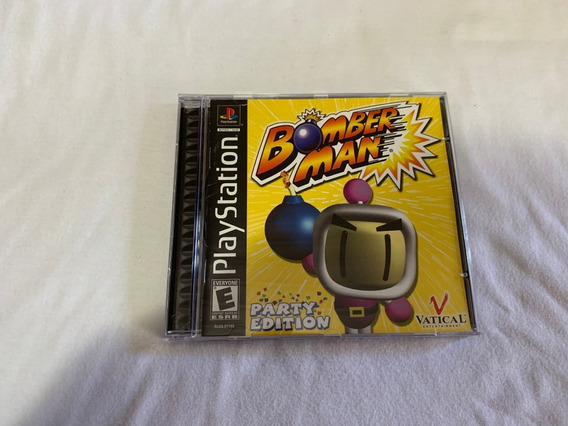 Bomberman Party Edition Ps1 Original Completo