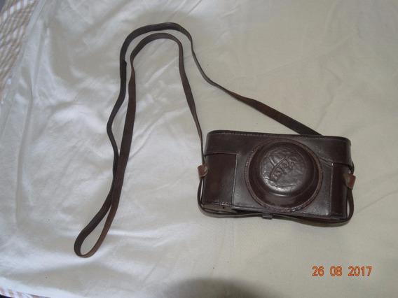 Máq. Fotográfica Leica Com Três Lentes, Filtros, Acessórios