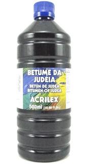Kit Com 02 Betume Da Judéia 500ml 15850 Acrilex - Promoção